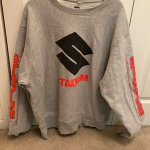 "JUSTIN BIEBER ""STATION"" sweatshirt XL"